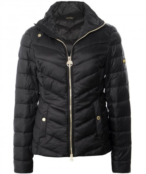 Barbour International Aubern Funnel Neck Quilted Jacket