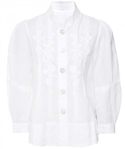 High Intricate Embroidered Shirt Jacket