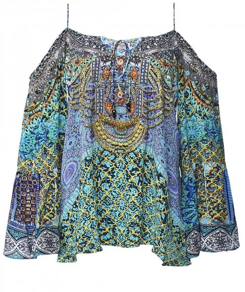 Inoa Silk Marrakesh Gypsy Top