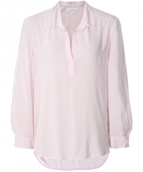 Velvet by Graham and Spencer Eliza V-Neck Shirt