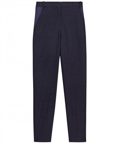 Victoria Victoria Beckham Virgin Wool Blend Tapered Leg Trousers