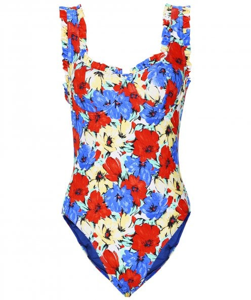 RIXO Valentina Floral Swimsuit