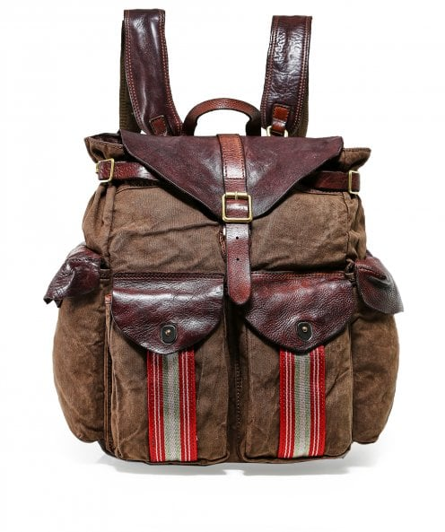 Campomaggi Natural Canvas Backpack