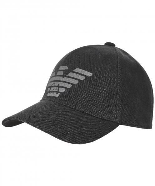 Armani Cotton Logo Baseball Cap