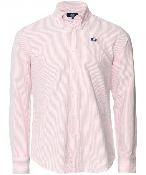 La Martina Regular Fit Pepe Stripe Shirt