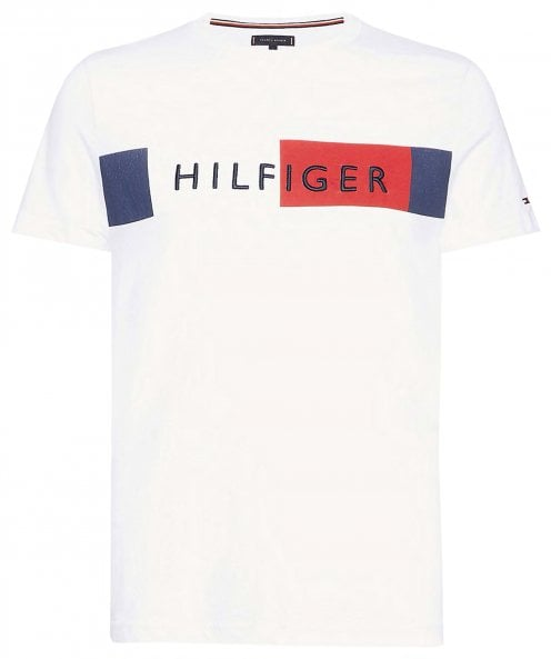 Tommy Hilfiger Colour Block Flag T-Shirt