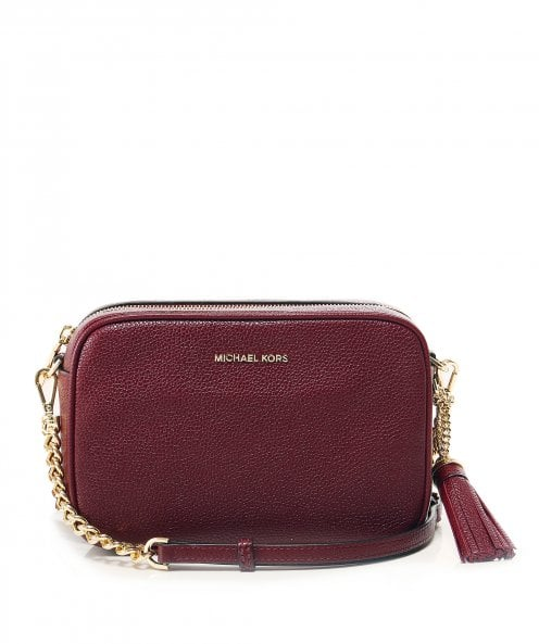 MICHAEL Michael Kors Leather Ginny Camera Crossbody Bag