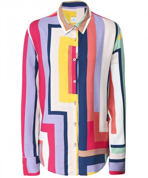 PS by Paul Smith Zigzag Print Shirt
