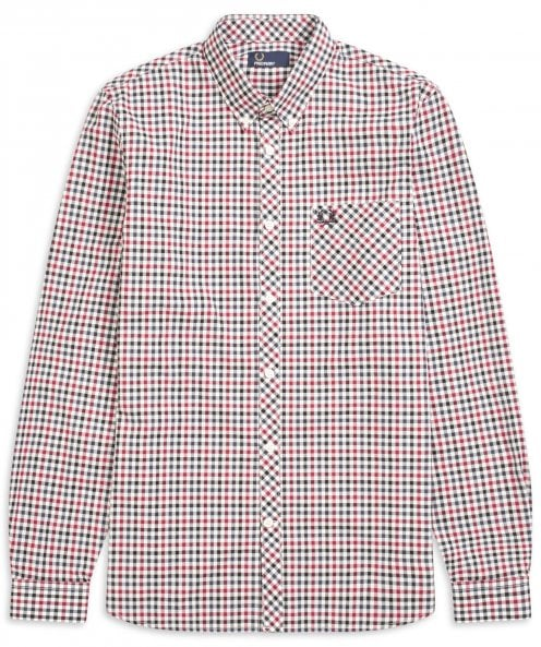 Fred Perry Four Colour Gingham Shirt M5550 850