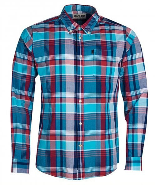 Barbour Tailored Fit Madras 1 Shirt