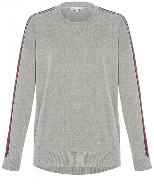 Tommy Hilfiger Organic Cotton Jacklyn Contrast Tape Jumper