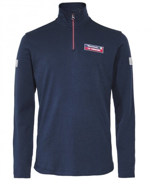 La Martina Slim Fit Half-Zip Cymbeline Sweatshirt