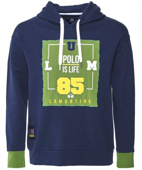 La Martina Cotton Marvin Hoodie
