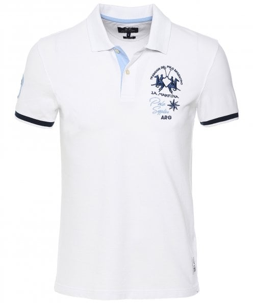 La Martina Slim Fit Webster Polo Shirt