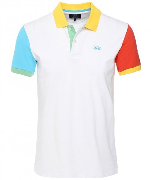 La Martina Contrast Warner Polo Shirt