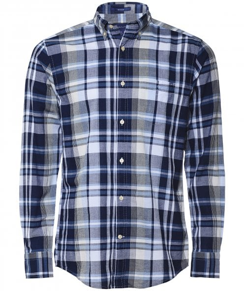GANT Regular Fit Plaid Check Shirt