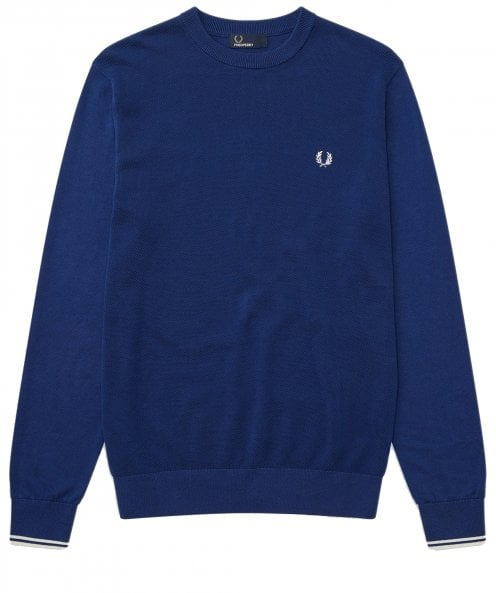 Fred Perry Textured Front Panel Jumper K5516 126