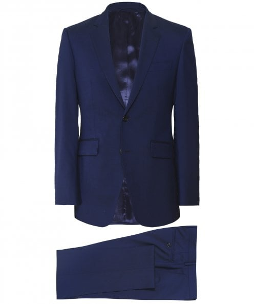 Hackett Stretch Fit Wool Suit