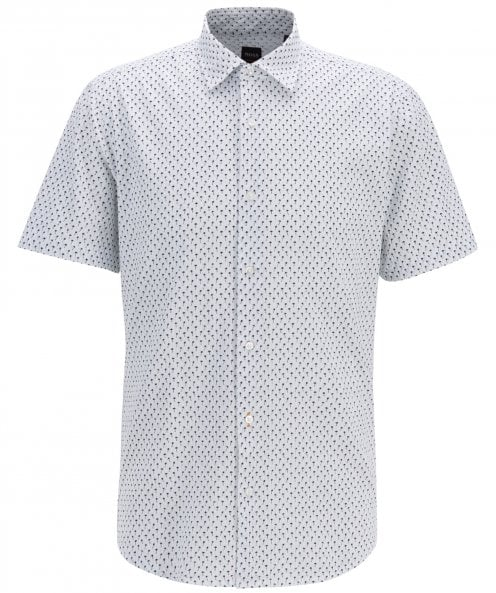 BOSS Regular Fit Short Sleeve Rash Shirt