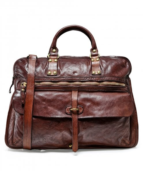 Campomaggi Leather Professional Shoulder Bag