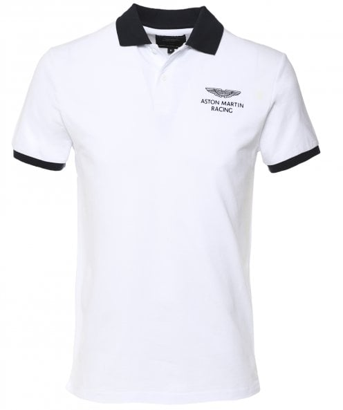 Hackett Pique Under Collar Polo Shirt