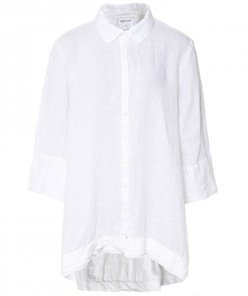 Grizas Washed Linen Oversized Shirt