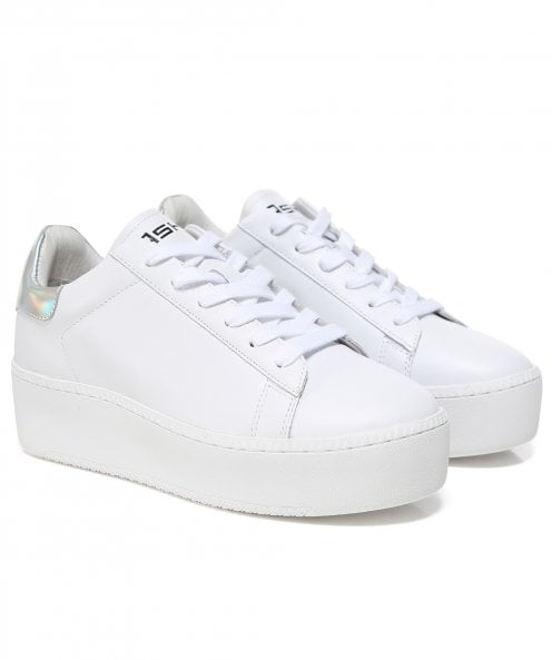 Ash Leather Cult Flatform Trainers