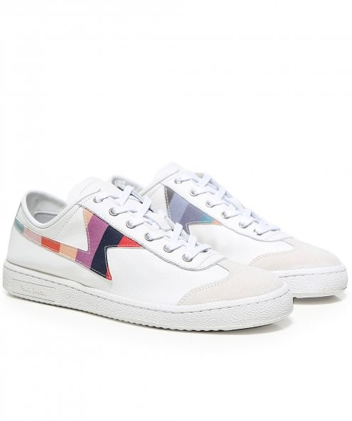 PS by Paul Smith Leather 'Swirl' Ziggy Trainers