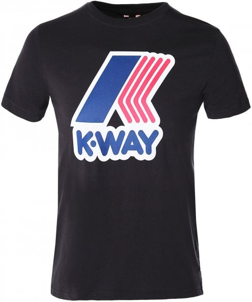K-Way Slim Fit Pete Macro Logo T-Shirt