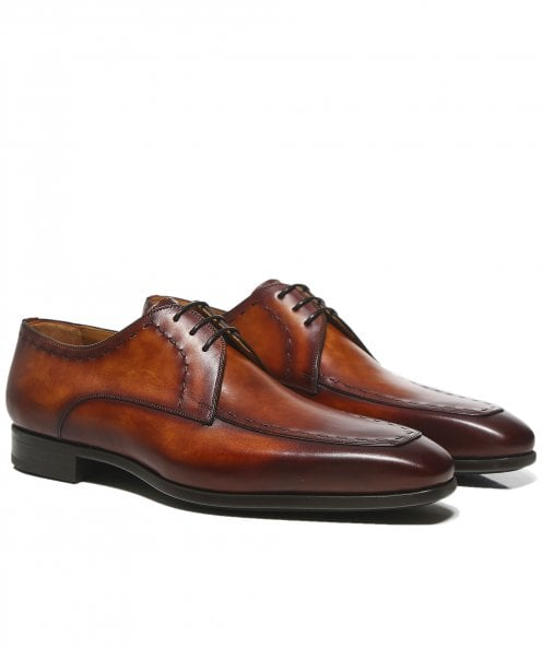 Magnanni Leather Norden Derby Shoes