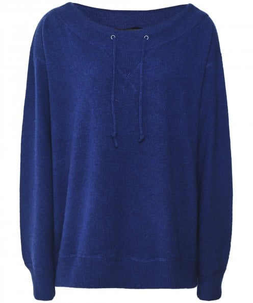 360 Cashmere Cashmere Iris Off-Shoulder Jumper