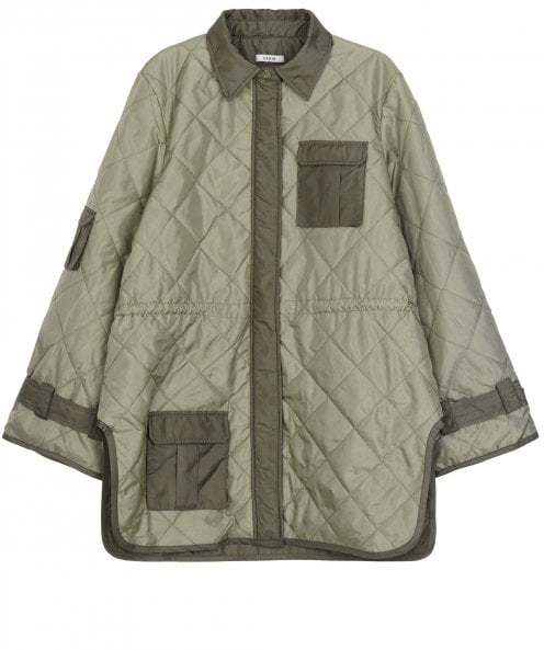 Ganni Aspen Ripstop Quilted Jacket