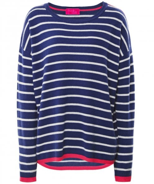 Made East Simone Stripe Cashmere Jumper