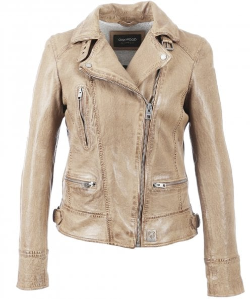 Oakwood Video Vegas Leather Biker Jacket