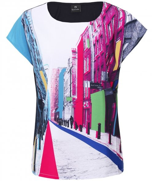 PS by Paul Smith Floral Street T-Shirt