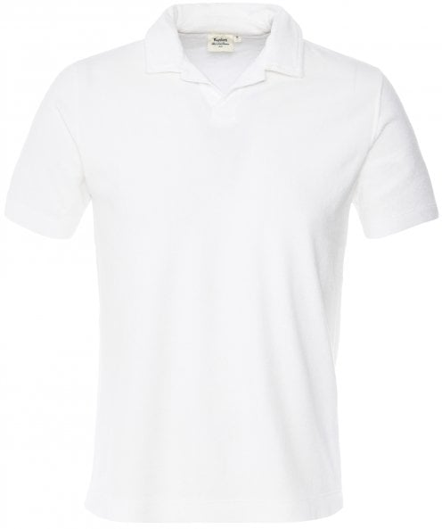Hartford Towelling Revere Collar Polo Shirt