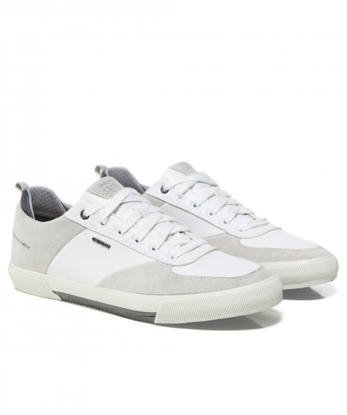 Geox Leather Kaven Trainers