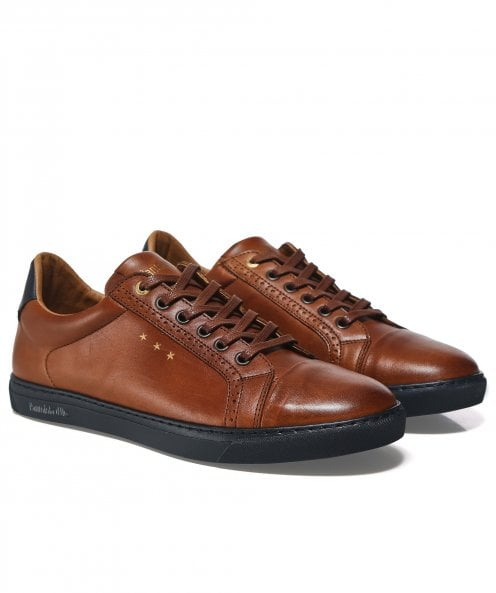 Pantofola d'Oro Leather Napoli Brogue Trainers