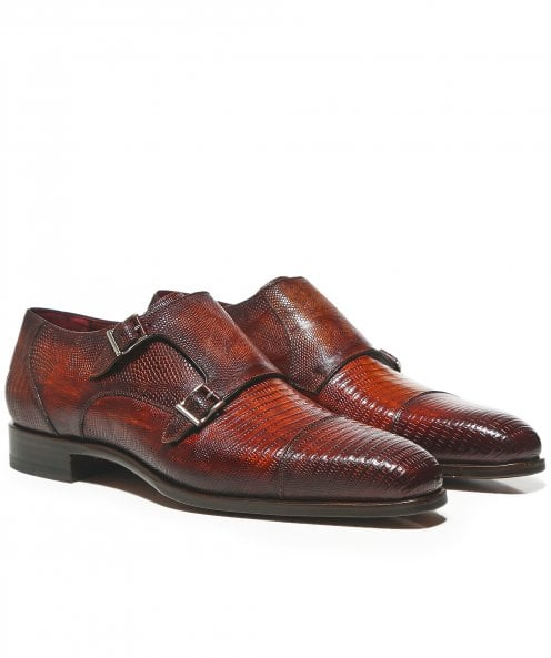Magnanni Lizard Leather Hendidos Shoes