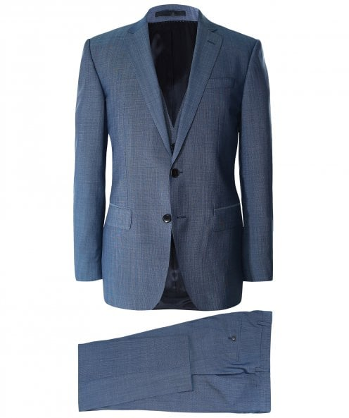 BOSS Slim Fit Three Piece Huge6/Genius5 WE Suit