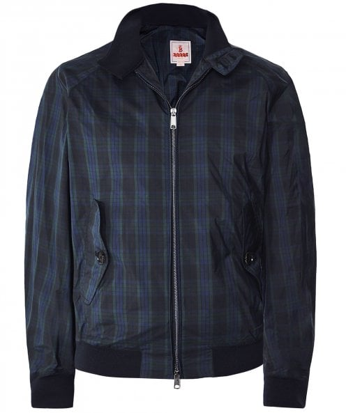 Baracuta Lightweight G9 Tartan Harrington Jacket