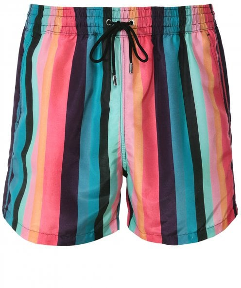 Paul Smith Artist Stripe Swim Shorts