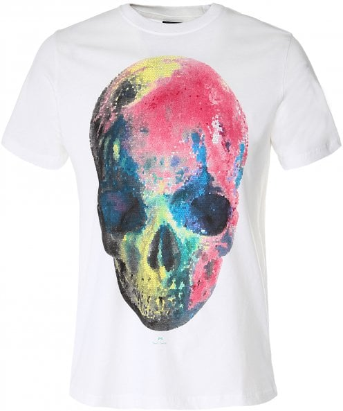 PS by Paul Smith Multicoloured Skull T-Shirt