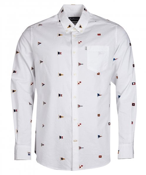 Barbour Tailored Fit Oxford Flag Shirt