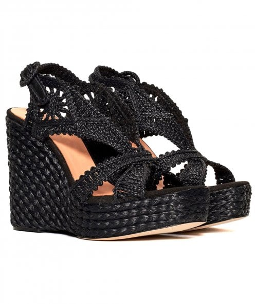 Paloma Barcelo Mercedes Wedge Sandals