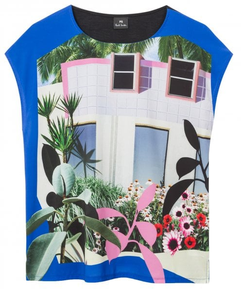 PS by Paul Smith 'Tropical Miami' Print T-Shirt