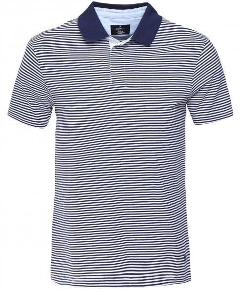 Hackett Classic Fit Striped Polo Shirt