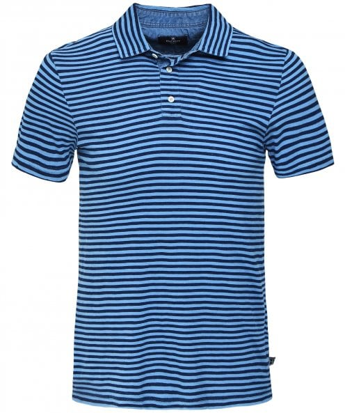 Hackett Slim Fit Striped Polo Shirt