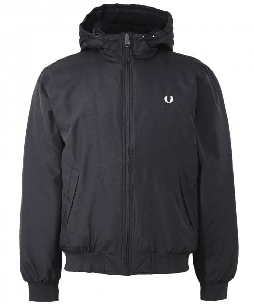 Fred Perry Hooded Padded Brentham Jacket