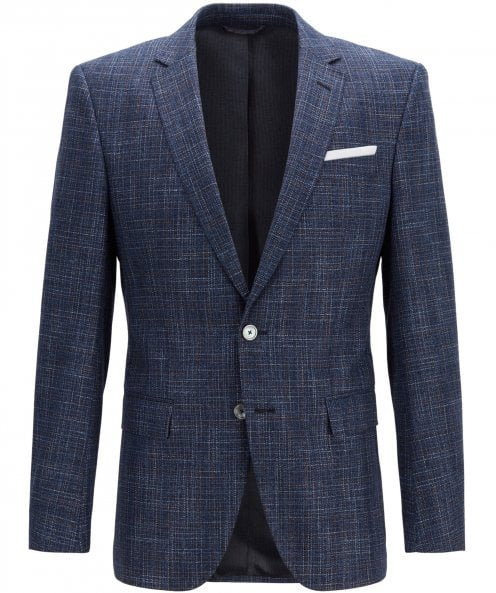 BOSS Slim Fit Virgin Wool Blend Hutsons4 Jacket